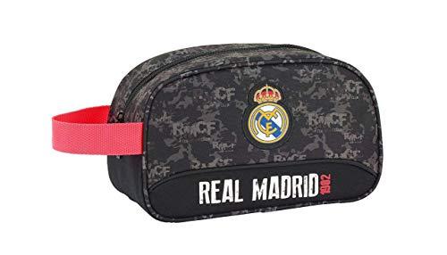 Real Madrid CF- Neceser, Color Negro (SAFTA 811924248)