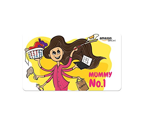 Amazon.in Gift Card - Gifts for Mom   Fridge Magnet - Mummy No. 1 - Rs.3000