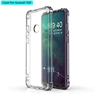 Huawei Y6P 2020 Case Cover Air Cushion Soft TPU Silicone Shockproof Anti-Slip Grip Soft Transparent case Bumpe