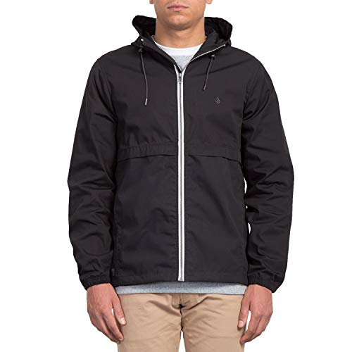 Volcom-drop (Volcom Herren Howard Hooded Übergangsjacke, Dark Khaki, L)