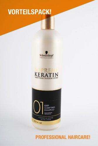 Supreme Keratin 01 Deep Clarifying Shampoo Preparazione Profonda, deterge e rimuove i residui