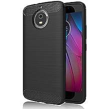 """Cover Lenovo Moto G5S , GeeRic Nero Silicone Custodia Motorola Moto G5S Cover Black Molle di TPU Custodia per Moto G5S Case Soft 5.2"""""""