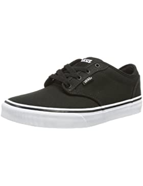 Vans Y ATWOOD (CANVAS)BLK/WHT - Zapatillas de lona infantil