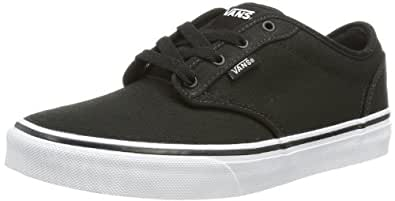 Vans Y Atwood, Baskets mode mixte enfant - Noir (Black/White), 27 EU