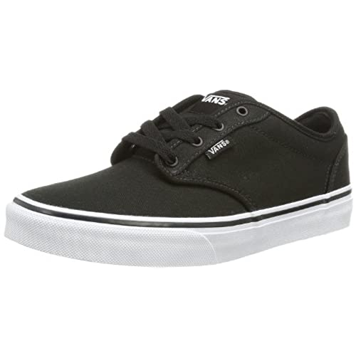 Classic Slip-on, Sneakers Basses Mixte Enfant, Noir (Black/True White), 30 EU (UK child 12 Enfant UK)Vans