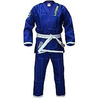Blitz Jiu Jitsu Gi Lutador brasileño para niños, Infantil, Color Azul, tamaño Talla M4