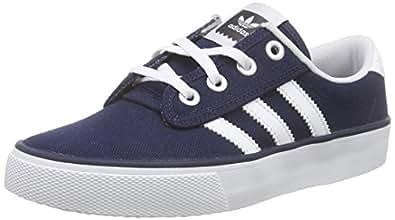 adidas Originals Kiel, Sneakers basses mixte adulte, Bleu (Collegiate Navy/Ftwr White/Carbon), 38 2/3 EU