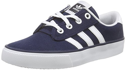 adidas Kiel, Baskets Basses Homme Bleu (Collegiate Navy/Ftwr White/Carbon)