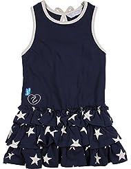 Zunstar Kylie - Traje / Body de náutica para niña, color azul marino, talla UK: Talla 98/104