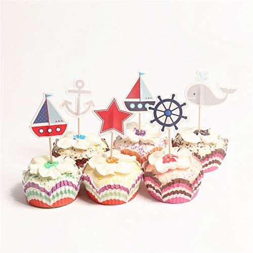 chendekoration Cake Toppers Cupcake Deko Geburtstagskuchen deko ()