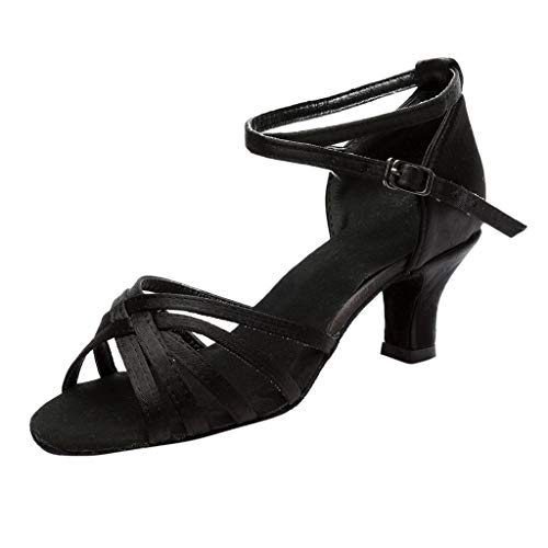 ♥ Loveso♥ Damen Schuhe Tanzschuhe Ballsaal Latin Tanzen Sandalen-Ausgestelltes Tanzschuhe/Standard Latin Dance Schuhe -