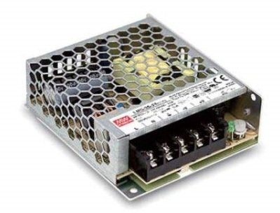 MEANWELL Power Supply: LRS-35-12, 35W 12VDC