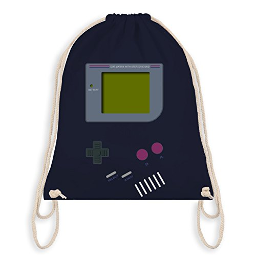 Nerds & Geeks - Gameboy - Unisize - Navy Blau - WM110 - Turnbeutel & Gym Bag