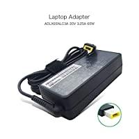 szhyon 20V 3.25A 65W Square tip Notebook Power Supply compatible with Lenovo ADLX65NLC3A ADLX65NDC3A ADLX65NCC3A Laptop AC Adapter Charger