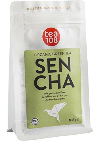 Bio Sencha Grüntee - für 108 Tassen, lose Blätter - Grüner Tee von Tea 108