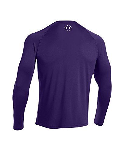 Under Armour Ua Men'Wwp Herren Tech Long Sleeve Mehrfarbig - Purpleheart/White