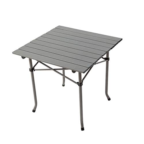 Hasayo Klapptisch for draußen Tragbarer Picknicktisch Reise-Haushaltstisch Quadratischer Tisch Aluminiumtisch Ultraleicht