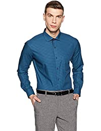 Park Avenue Men's Formal Shirt (8907663238783_PMSY09797-B5_Medium Blue_40)