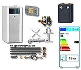 Wolf Paket Ölbrennwertkessel COB-15 15kW / Mischerkreis; Speicheranschluss-Set; BM + Abgassystem 10 m
