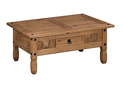 Mercers Furniture Corona Coffee Table - cheap UK light store.