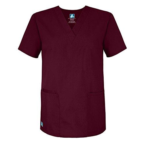 Medizinische Uniformen Unisex Top Krankenschwester Krankenhaus Berufskleidung 2600 Color BRG | Talla: 3X