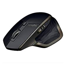 Logitech MX Master AMZ Wireless Bluetooth Mouse, USB Receiver for Windows and Mac, Rechargeable Battery, Multi-Device, Programmable Buttons for Productivity, Graphite