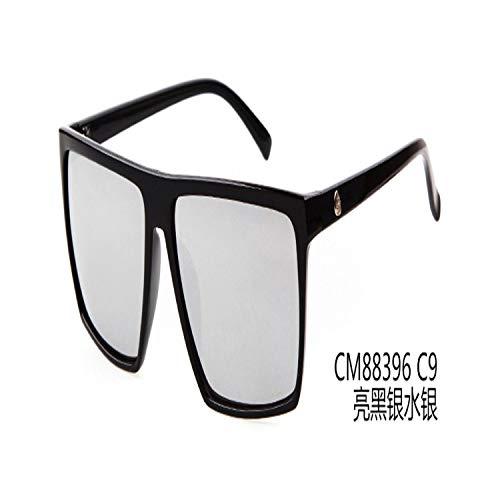 Sportbrillen, Angeln Golfbrille,Retro Square Sunglasses Mens Vintage Sun Glasses Brand Designer Man Goggles Square Steampunk Eyewares Gafas De Sol Gafas ST88 C9