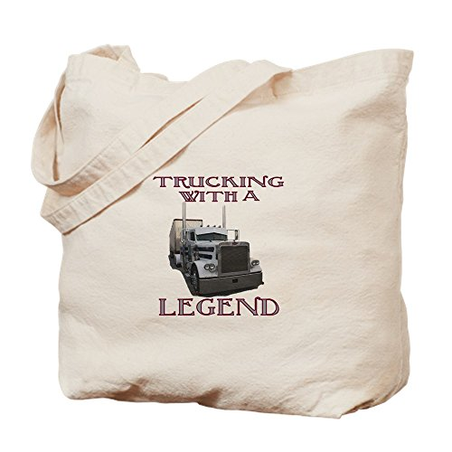 CafePress-Trucking mit Legende-Leinwand Natur Tasche, Tuch Einkaufstasche