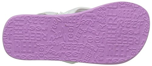 Reef LITTLE AHI, Sandales Bride cheville fille Multicolore (Purple/Multi)