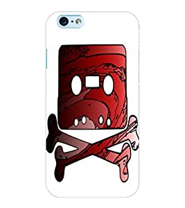 ColourCraft Funny Image Design Back Case Cover for APPLE IPHONE 6