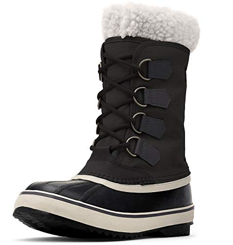 Sorel Winter Carnival Boots, Stivali da neve Donna, Nero (Black, Stone/011), 37 EU