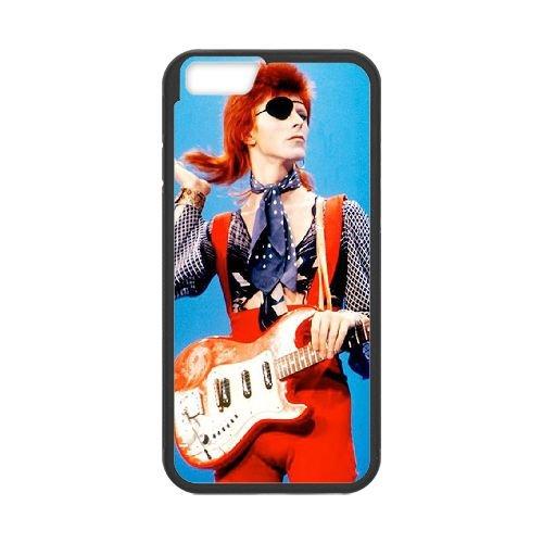 David Bowie coque iPhone 6 Plus 5.5 Inch Housse téléphone Noir de couverture de cas coque EBDXJKNBO13455