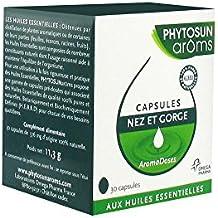 Phytosun Arôms Aromadoses Nez et Gorge 30 Capsules