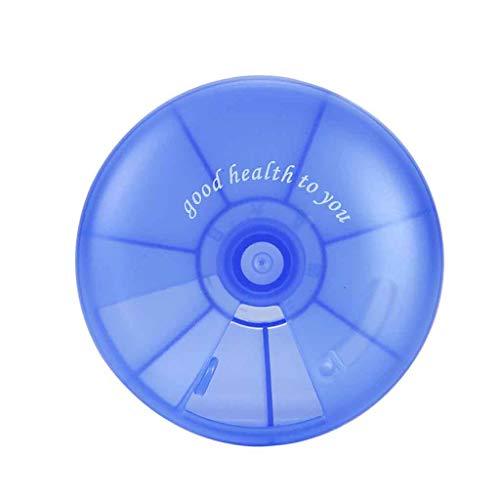 PillendoseTablettenbox tragbar Pillendose,Rifuli® Reise-Tablettenschachtel Medizin Tablet Lagerung Vitamin Dispenser Organizer 7 Tage Aufbewahrungstasche Kleidertasche Sparset Ultra-leichte
