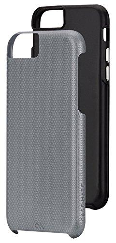 Case-Mate Tough robuste Outdoorhülle für Apple iPhone 6 rauchgrau/schwarz (Case Case-mate Iphone Von 6)