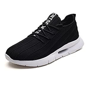 41chBCdZ1bL. SS300  - ZHShiny Men Sports Running Shoes Lightweight Slip On Summer Sneakers Athletic Walking Shoes Plus