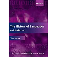 [(The History of Languages: An Introduction)] [Author: Tore Janson] published on (December, 2011)