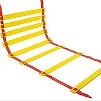 YXLONG Escalera De Cuerda 3 Metros 5 Metros, Escalera De Escape En Caso De Incendio Escalera De Nylon Suave Al Aire Libre Escalera De Escalada para El Hogar Escalera De Ingeniería,Red-7m