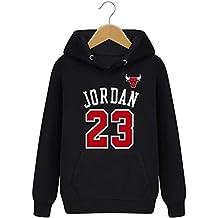 LJA Hombre Bulls Jordan 23 Sudaderas con Capucha