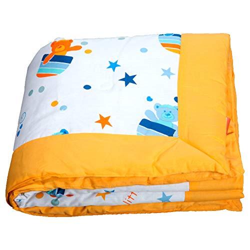 Edredón para cuna y maxicuna bebe/colcha/manta bebe con relleno para todo tipo de cuñas y colchones...