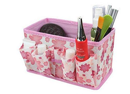 winwintom brillant maquillage boîte de rangement pliable conteneur