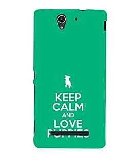 ifasho Designer Phone Back Case Cover Sony Xperia C3 Dual :: Sony Xperia C3 Dual D2502 ( Shiva Om Trance Art Hindu God )