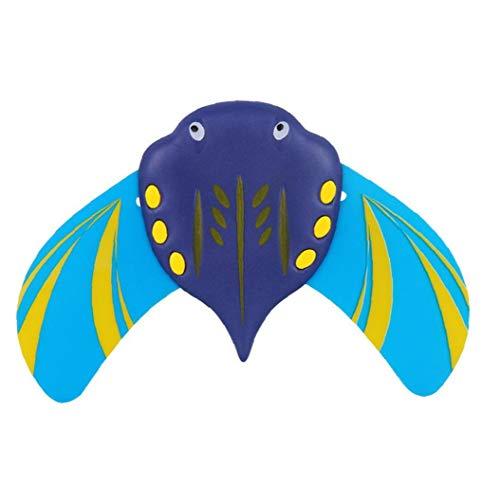 Stingray Unterwasser-Glider Swimming-Pool-Spielzeug Selbstfahrer Flexible Fins Mini Stingray Unterwasser Gliders 1pc