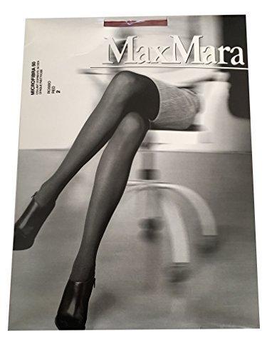 max-mara-femme-collants-50-taniere-rouge-mod-microfibre-50-2-s