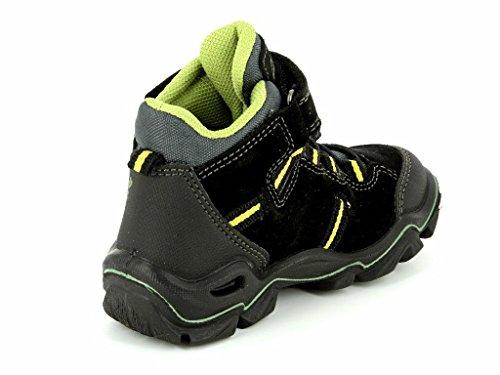 Primigi Jackson 66411/00 Kinder Boot in Weit NERO/GRIG./NERO