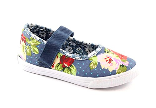LELLI KELLY LK7300fantasia jeans scarpe bambina ballerine elastico 25