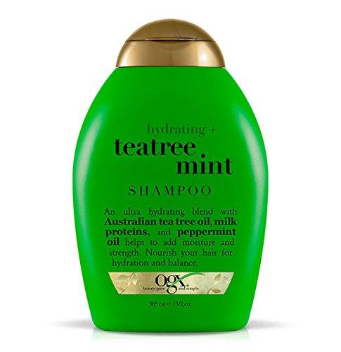 OGX Organix Hydrating Tea Tree Mint Shampoo - pflegende Haarwäsche -