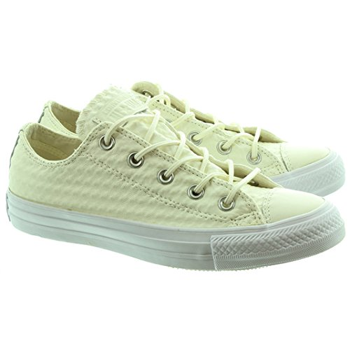 CONVERSE All Star Craft Cuir B Ecru Blanc