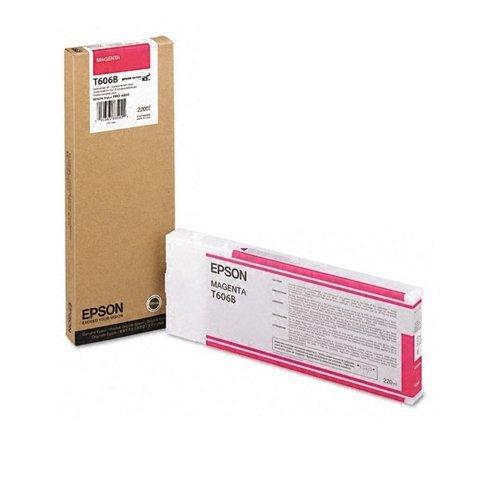 Epson T606B Cartouche d'encre d'origine 1 x magenta