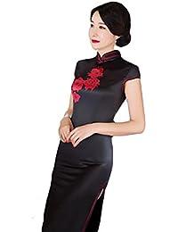 baeffef2e09e QIXPAO Il Vestito da Cerimonia Nuziale della Sposa è Lungo Il Cheongsam  Stile Retro Stile Cinese
